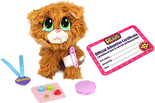 Rescue Runts Tabby Plush Toy