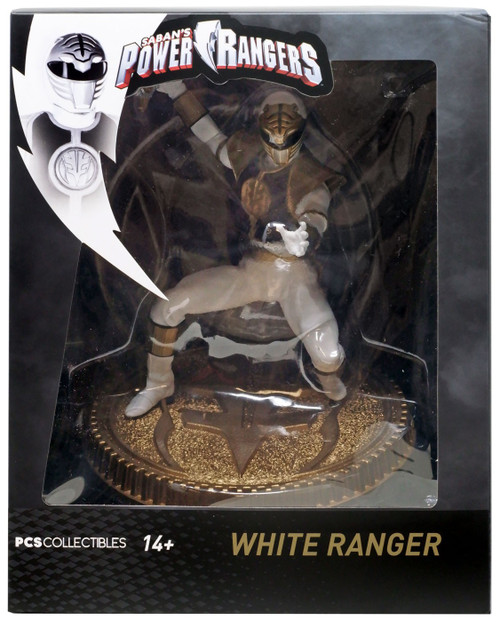 Power Rangers Mighty Morphin White Ranger Exclusive 7-Inch Statue