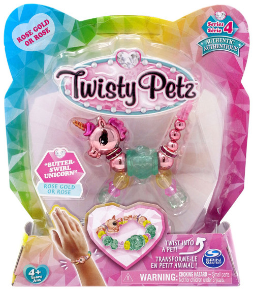 Twisty Petz Series 4 Butter-Swirl Unicorn Bracelet