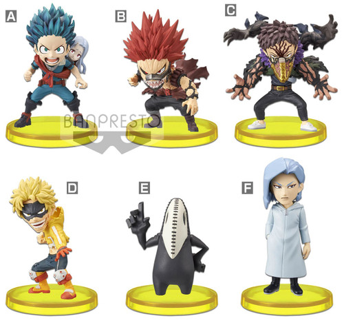 WCF World Collectable Figure My Hero Academia 2.75-Inch Set of 6 PVC Figures Vol. 7 (Pre-Order ships January)