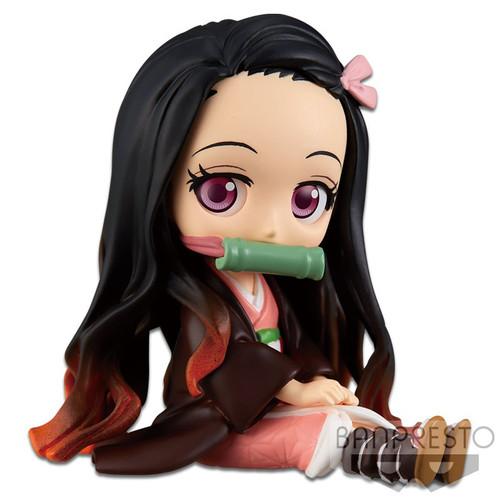 Demon Slayer: Kimetsu no Yaiba Q Posket Petit Nezuko Kamado 2.8-Inch Collectible PVC Figure #01