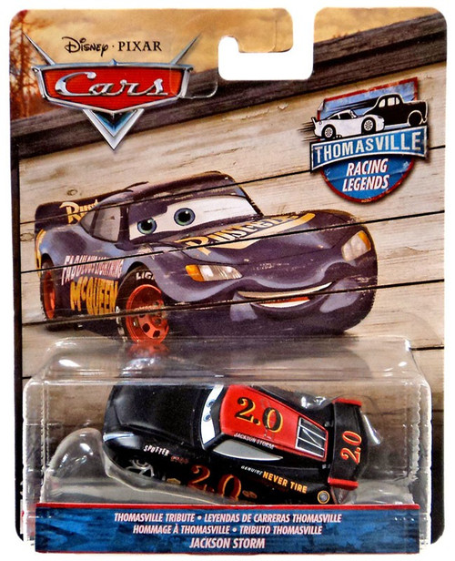 Disney / Pixar Cars Cars 3 Thomasville Racing Legends Jackson Storm Diecast Car [Thomasville Tribute, Damaged Package]