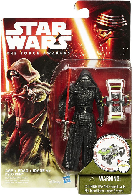 Star Wars The Force Awakens Jungle & Space Kylo Ren Action Figure [Forest Mission, Damaged Package]