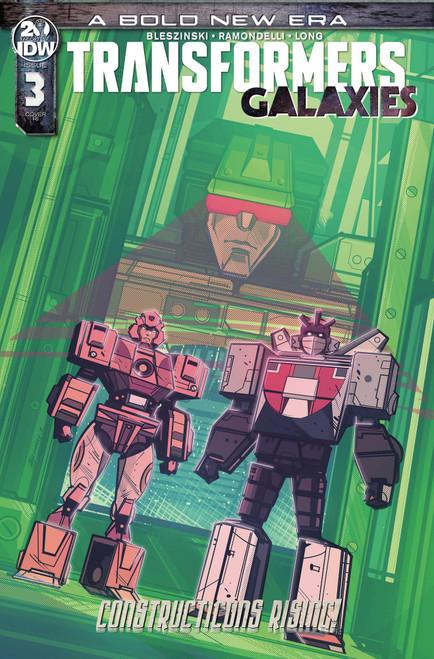 IDW Transformers Galaxies #3 Comic Book [Angel Hernandez Variant Cover]