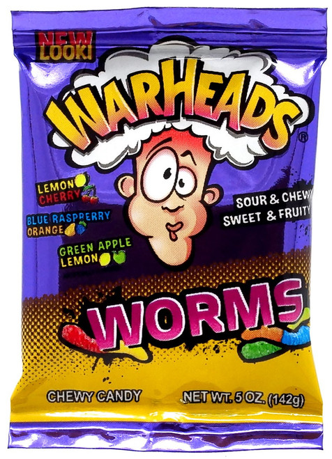 5 Surprise Mini Brands! War Heads 1-Inch Miniature [Worms Loose]