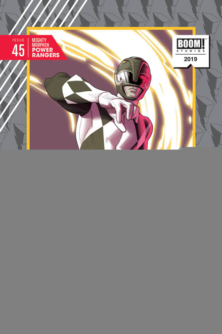 Boom Studios Mighty Morphin Power Rangers #45 Necessary Evil Comic Book [Kris Anka Variant Cover]