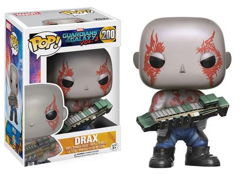 Funko Guardians of the Galaxy Vol. 2 POP! Marvel Drax Vinyl Bobble Head #200 [Damaged Package]