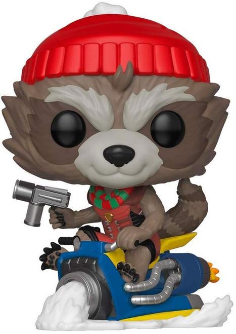 Funko POP! Marvel Holiday Rocket Vinyl Bobble Head [Damaged Package]