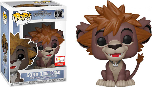 Funko Disney Kingdom Hearts III POP! Games Sora Exclusive Vinyl Figure [Lion Forme, Damaged Package]