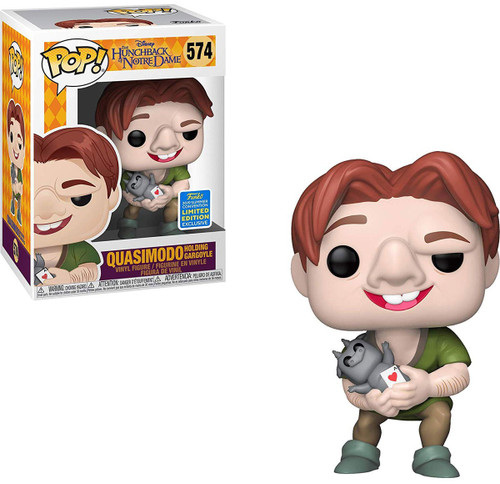 Funko The Hunchback of Notre Dame POP! Disney Quasimodo Vinyl Figure #574 [Holding Gargoyle, Damaged Package]
