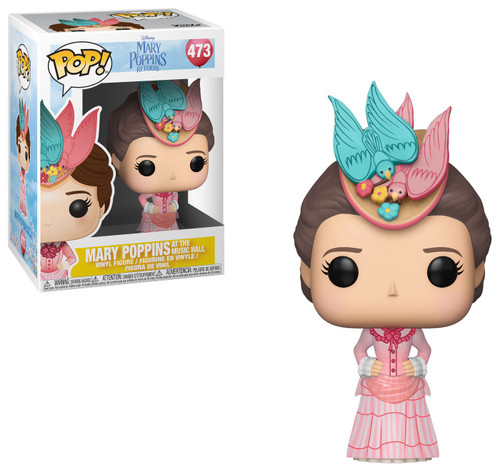 Funko Mary Poppins Returns POP! Disney Mary Poppins Vinyl Figure #473 [Pink Dress, Damaged Package]