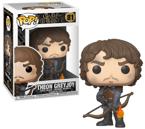 Funko Game of Thrones POP! TV Theon Vinyl Figure [with Flamming Arrows, Damaged Package]