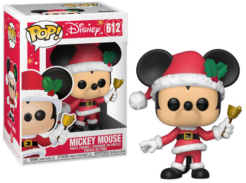Funko POP! Disney Mickey Mouse Vinyl Figure [Holiday, Damaged Package]