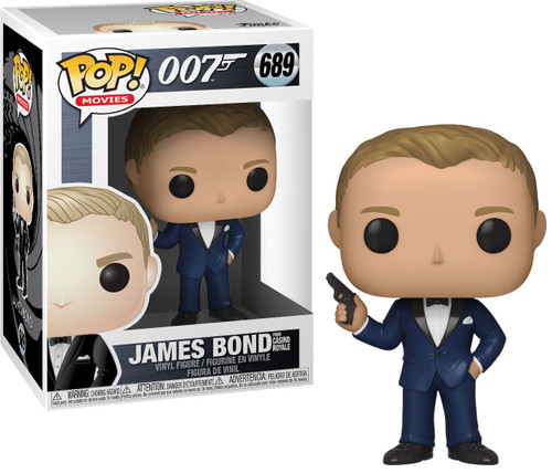 Funko Casino Royale POP! Movies James Bond Vinyl Figure [Daniel Craig (Casino Royale), Damaged Package]