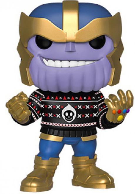 Funko POP! Marvel Holiday Thanos Vinyl Bobble Head [Damaged Package]