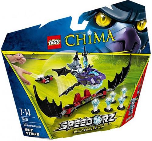 LEGO Legends of Chima Bat Strike Set #70137 [Damaged Package]