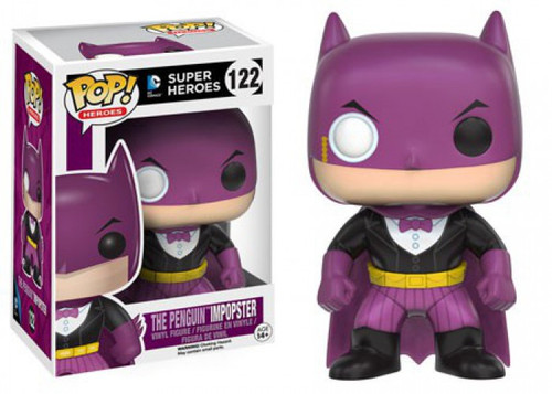 Funko DC POP! Heroes The Penguin Impopster Vinyl Figure #122 [Batman, Damaged Package]