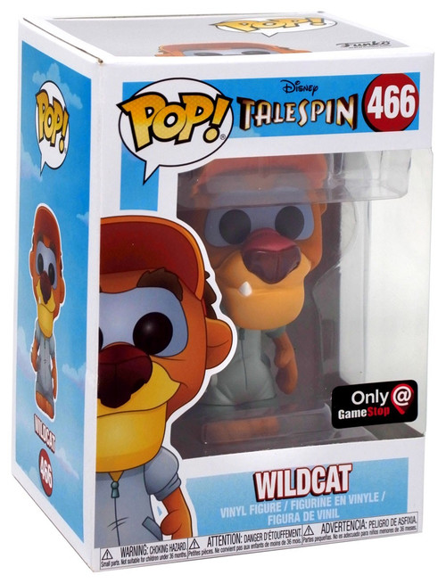 Funko TaleSpin POP! Disney Wildcat Exclusive Vinyl Figure #466 [Damaged Package]