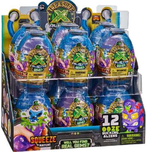 Treasure X Series 3 Aliens Ooze Egg Mystery Box [12 Packs]