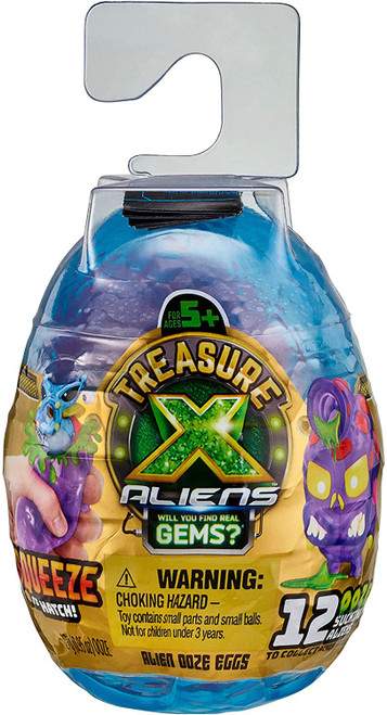 Treasure X Series 3 Aliens Ooze Egg Mystery Pack [Look for Real Gems!] (Pre-Order ships October)