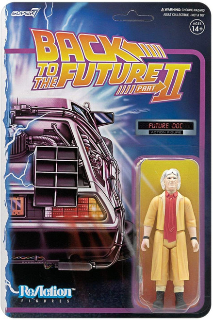 ReAction Back to the Future 2 Doc Brown Action Figure [Future]