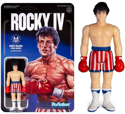 ReAction Rocky IV Rocky Balboa Action Figure [Beat Up]
