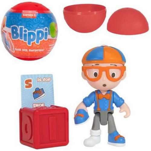 Blippi Ball Pit Surprise Mini Figure Mystery Pack [1 RANDOM Figure!]