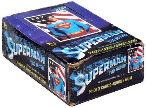 DC Superman The Movie Trading Card Box [36 Packs]