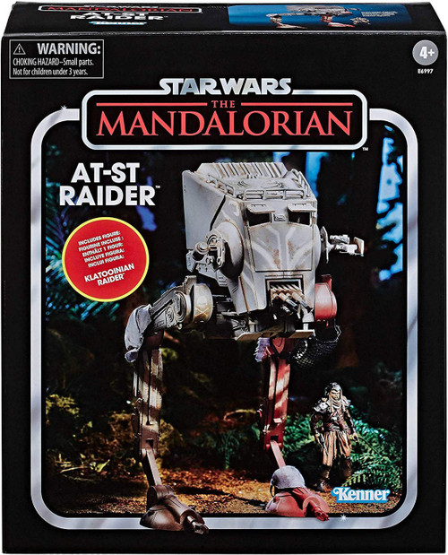 Star Wars The Mandalorian Vintage Collection AT-ST Raider Action Figure Vehicle