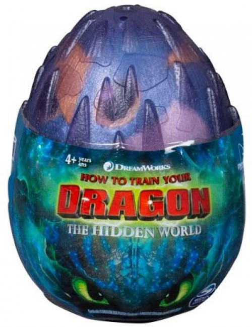 How to Train Your Dragon The Hidden World Stormfly 3-Inch Egg Plush [Blue, Version 2]