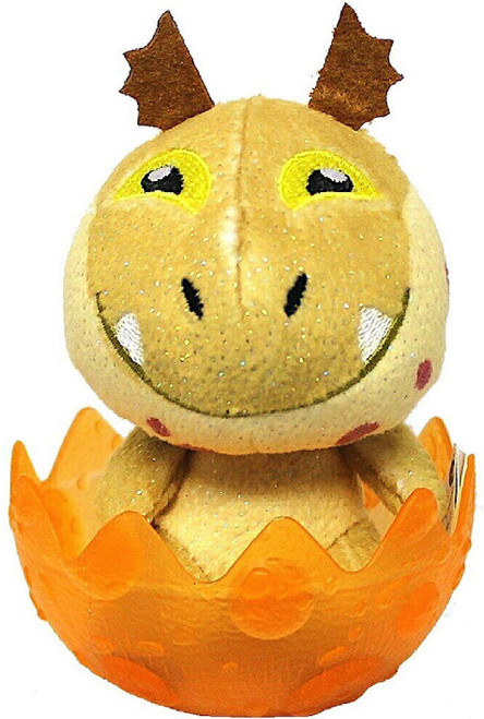 How to Train Your Dragon The Hidden World Meatlug 3-Inch Egg Plush [Orange]