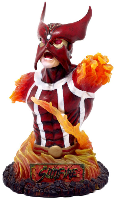 X-Men Rogues' Gallery Sunfire Bust