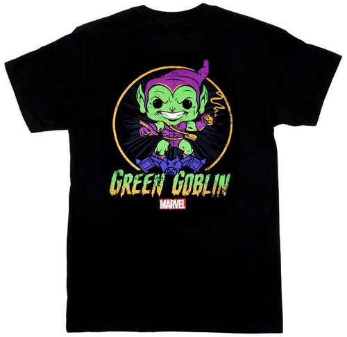 Funko Marvel Collector Corps Green Goblin Exclusive T-Shirt [Small]