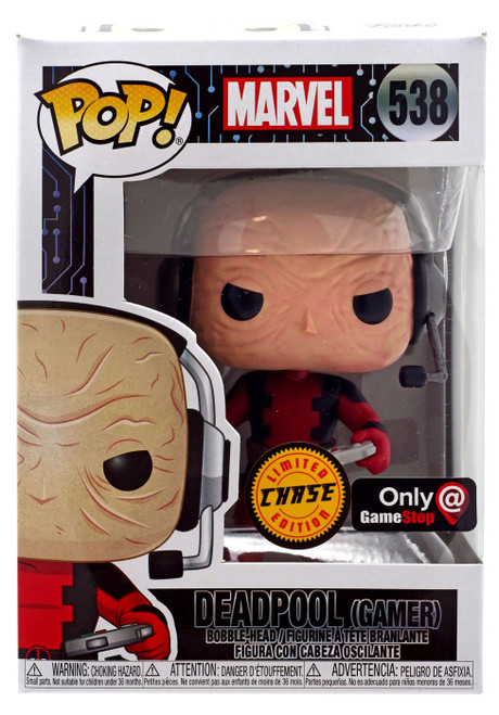 Funko POP! Marvel Deadpool Exclusive Vinyl Bobble Head #538 [Gamer, Chase]