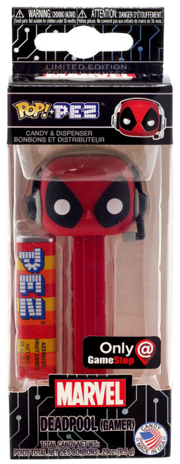 Funko Marvel POP! PEZ Deadpool Exclusive Candy Dispenser [Gamer]
