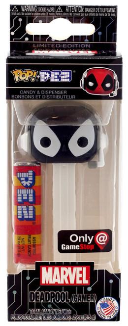 Funko Marvel POP! PEZ Deadpool Exclusive Candy Dispenser [Gamer, Black & White]