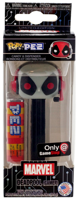 Funko Marvel POP! PEZ Deadpool Exclusive Candy Dispenser [Gamer, X-Force]