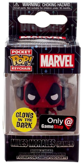 Funko POP! Marvel Deadpool Exclusive Keychain [Gamer, Glow-in-the-Dark]