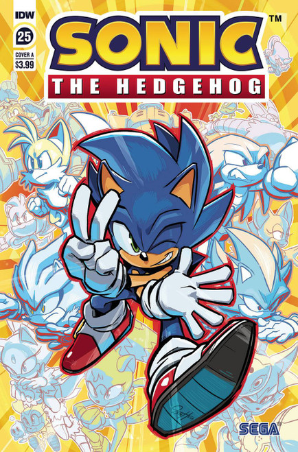 IDW Sonic The Hedgehog #25 Comic Book