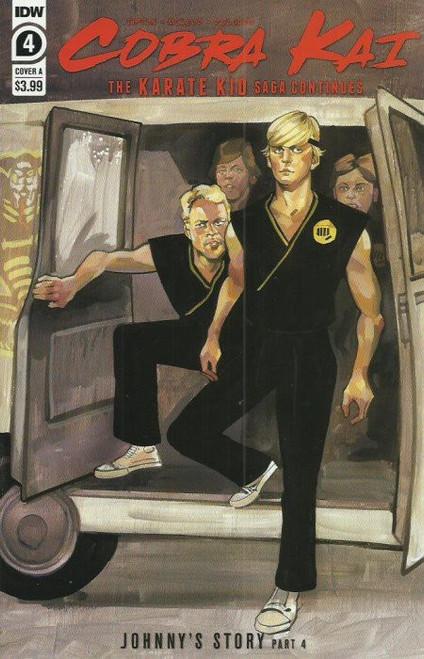 IDW Cobra Kai Karate Kid Saga Continues #4 of 4 Comic Book