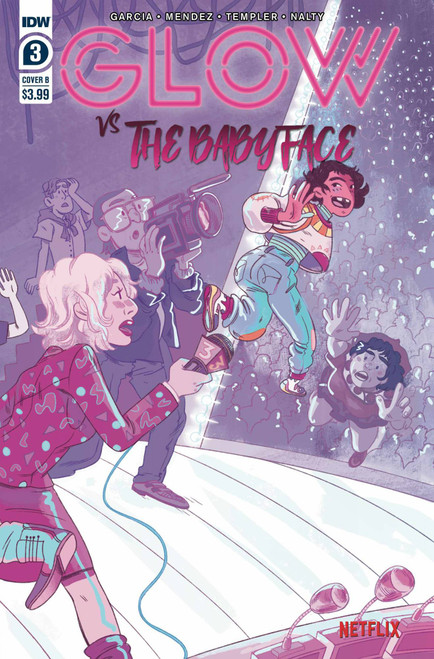 IDW Glow vs Babyface #3 of 4 Comic Book [Nicole Goux Variant Cover B]