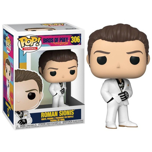 Funko DC Birds of Prey POP! Heroes Roman Sionis Vinyl Figure [White Suit, Regular Version]