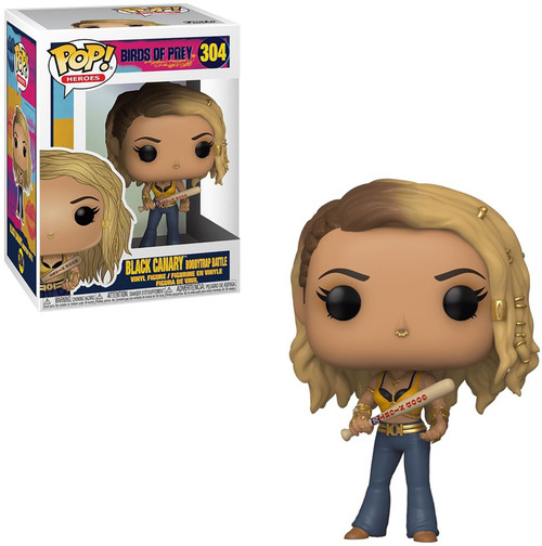 Funko DC Birds of Prey POP! Heroes Black Canary Vinyl Figure #304 [Boobytrap Battle]
