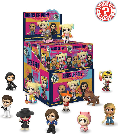 Funko DC Mystery Minis Birds of Prey Mystery Box [12 Packs]