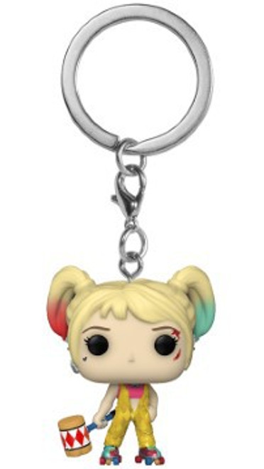 Funko DC Birds of Prey Pocket POP! Harley Quinn Keychain [Boobytrap Battle]