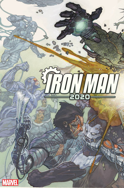 Marvel Iron Man 2020 #1 of 6 Comic Book [Simone Bianchi Connecting Variant Cover]