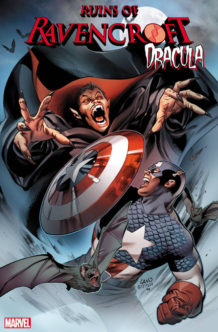 Marvel Comics Ruins of Ravencroft #1 Dracula Comic Book [Greg Land Variant Cover]