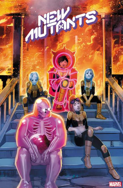 Marvel New Mutants #6 Comic Book