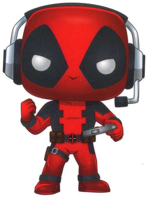 Funko Marvel Deadpool Exclusive Sticker [Gamer]