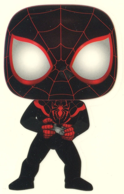Funko Marvel Miles Morales Exclusive Sticker [Gamer, Glow-in-the-Dark]